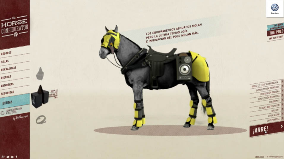 VW Polo Horse Configurator - Fake Studio
