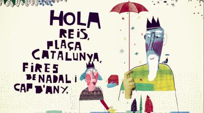Hola Nadal Campaña Ayuntamiento Barcelona Animacion Marc Molina Casa de Carlota