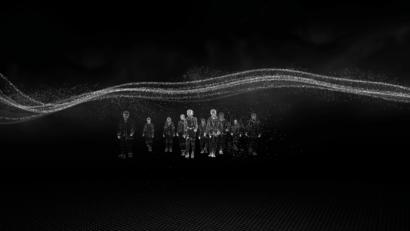 Particulas 3D gente