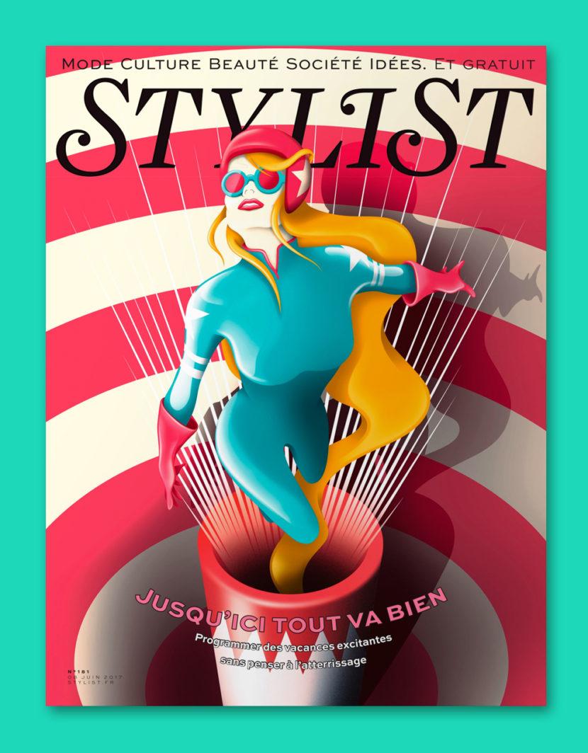 Cover Stylist Magazine David Acevedo
