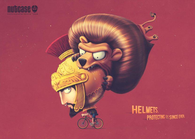 Nutcase helmets by Bakea