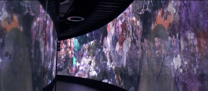 glassled screen visual experience