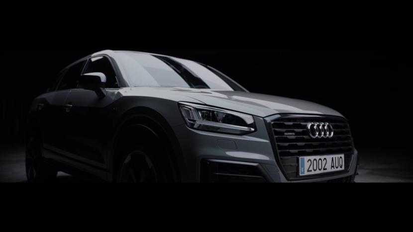 Audi Black frontal