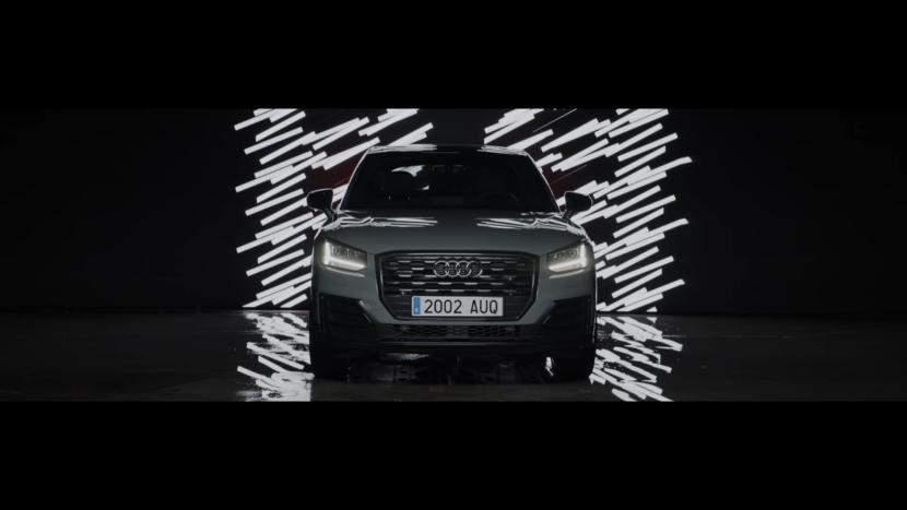 Audi Black Animaciones Led screen