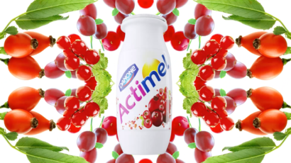 Actimel fruits kaleidoscope food films fake studio